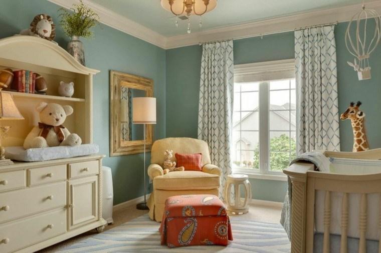 color diseño niños habitacion osos