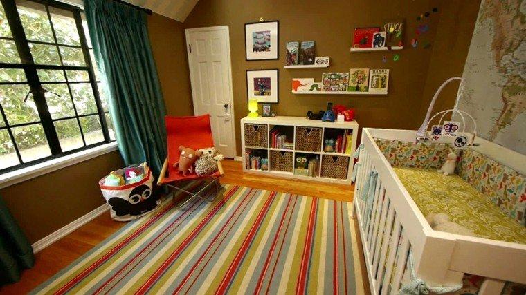 color diseño rayas colorido cama