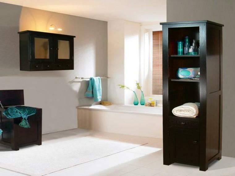 Muebles De Baño Color Turquesa:Baños de color de diseño moderno