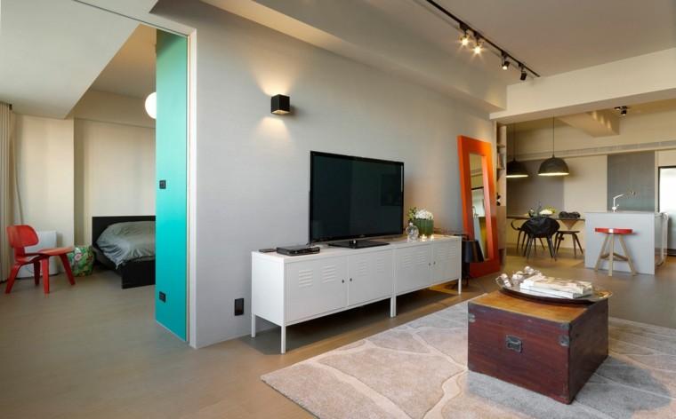 colores vivos diseo interiores modernos
