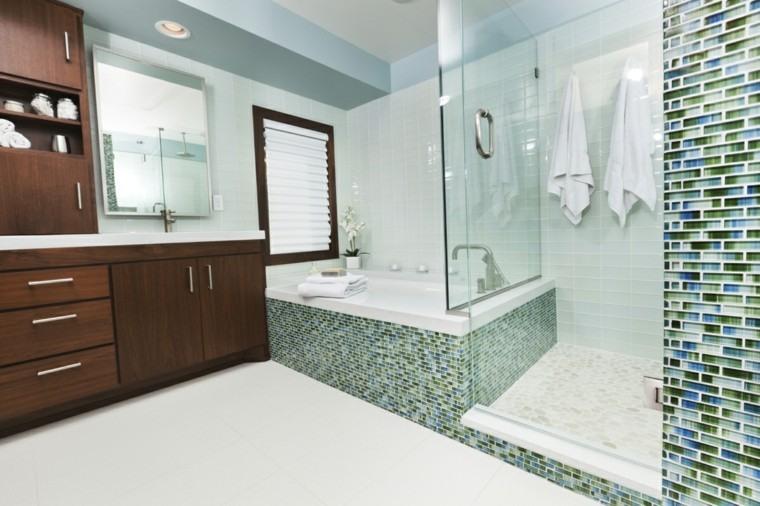 colorido madera espejo casa muebles