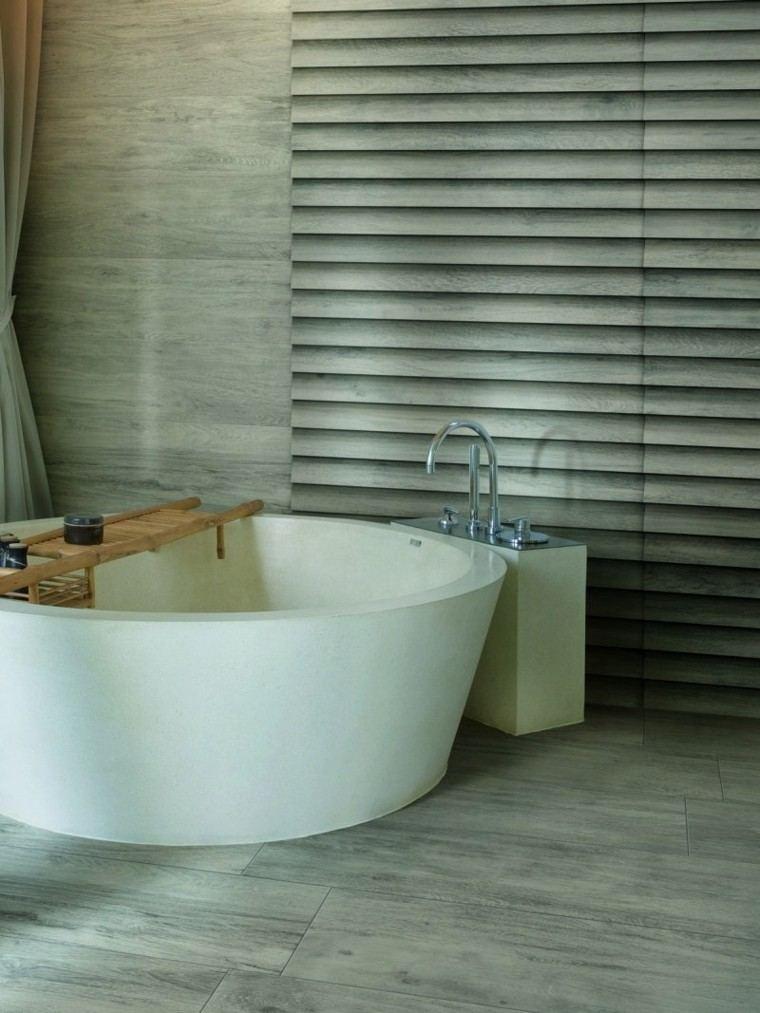 combinada listones bañera cortina baño