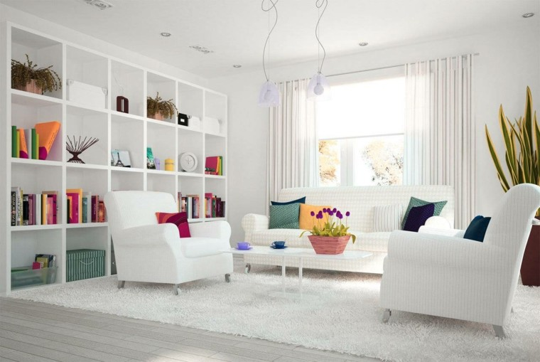 como decorar un salon elegancia y funcionalidad On como decorar un salon blanco