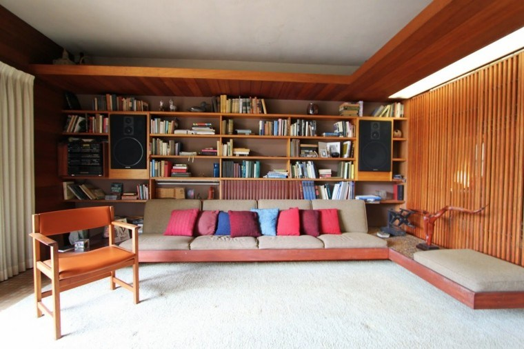 conjunto sofas salon madera baratos