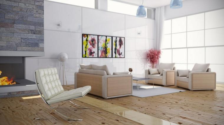 conjunto muebles salon modernos