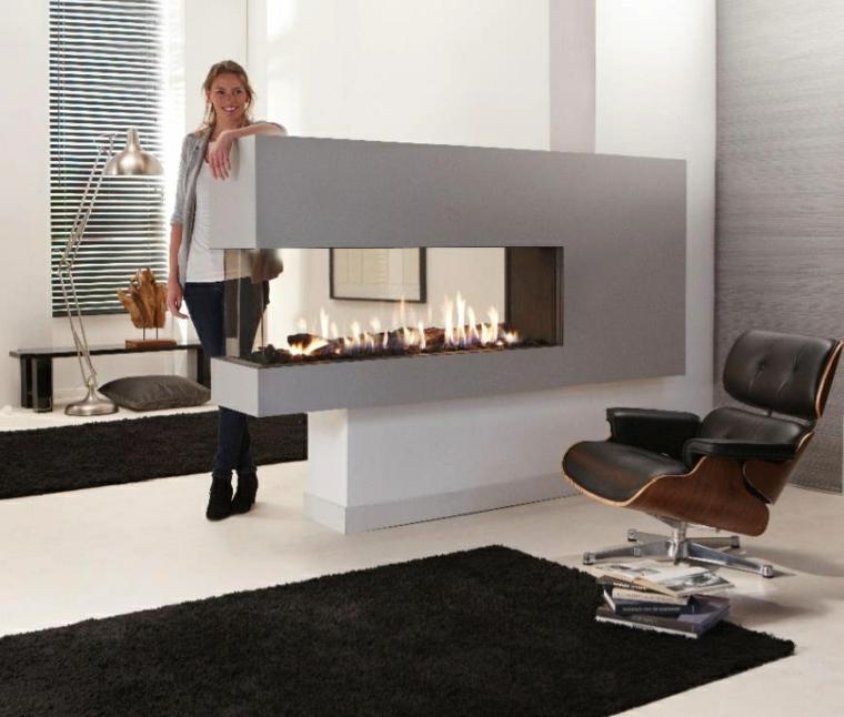 contemporaneo minimalista mujer alfombra lamapra
