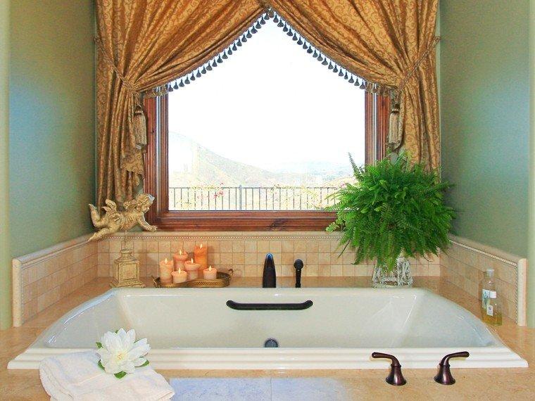 Cortinas De Baño Flores:Diseño decoracion e ideas para baños en 50 imágenes