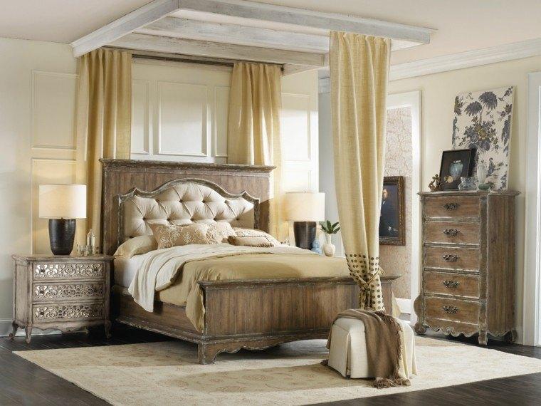 cortinas estilo clasico vintage creama