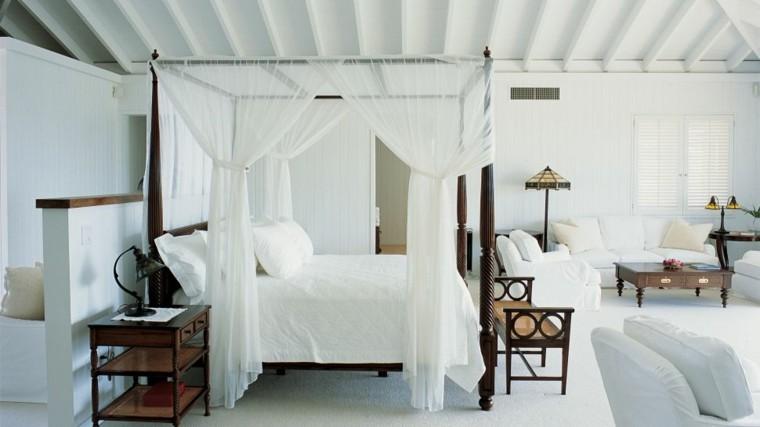 cortinas retro elegante lamparas madera
