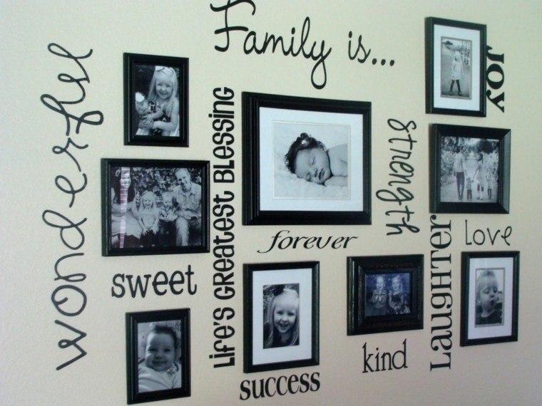 cuadros originales fotos familia letras