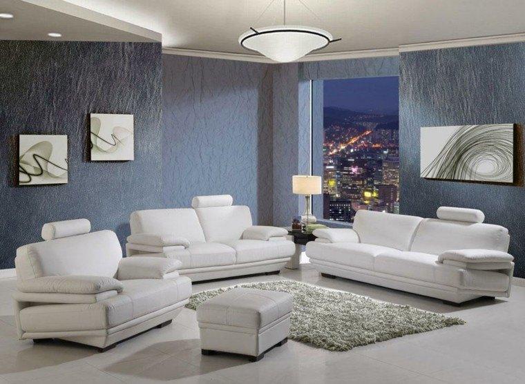 cuadros oscuras paredes sofas textura