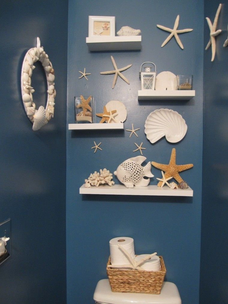 cuarto baño decoracion marina