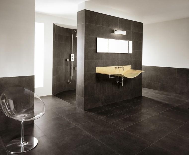 cuarto baño estilo minimalista diseno moderno lavabo precioso ideas