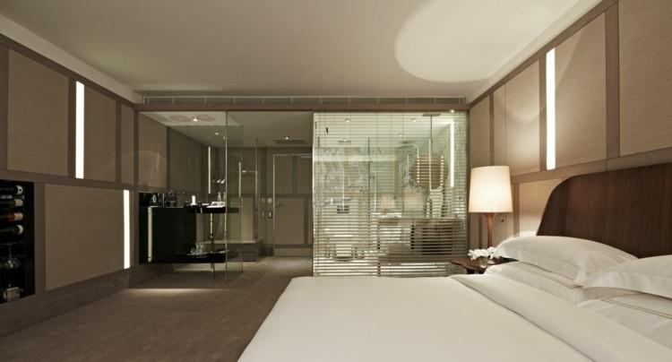 Cuartos de ba o acristalados en el dormitorio 25 ideas - Precio cuarto de bano ...