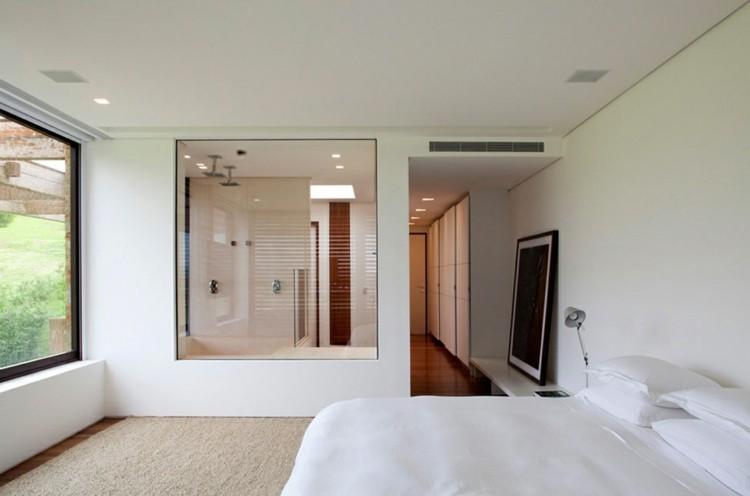diseño cuartos de baño transparentes