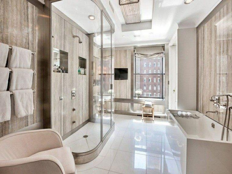 Cuartos de ba o con ducha modernos for Cuartos de bano con ducha