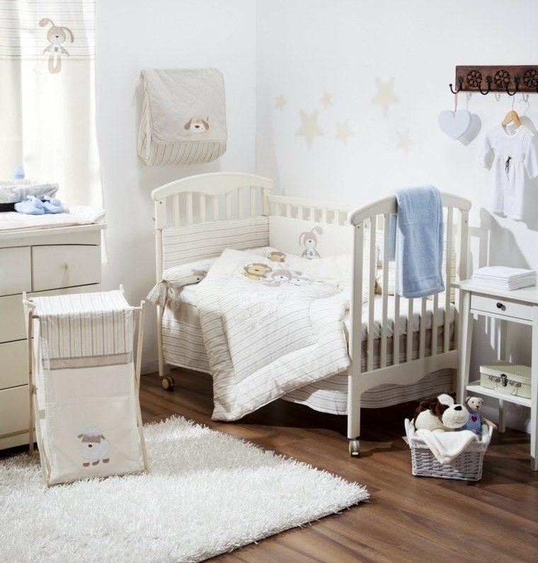Decoracion habitacion bebe cincuenta dise os geniales - Color pared habitacion bebe ...