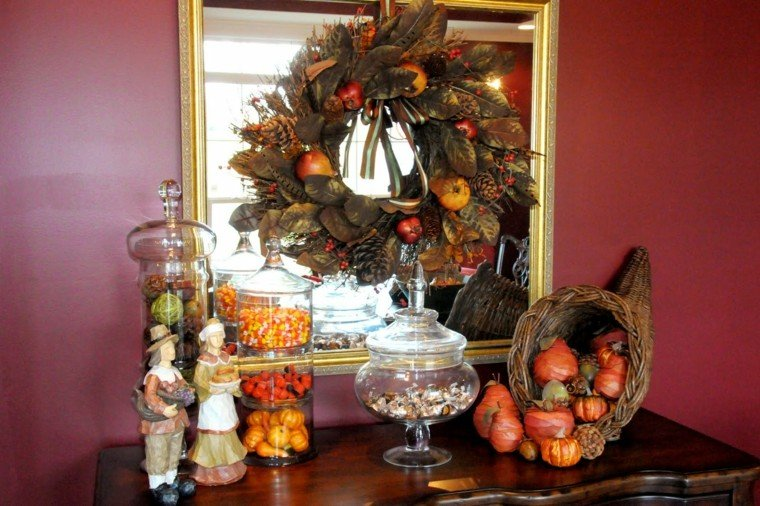 decoracion chuches calabazas otoño