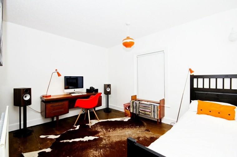 decoración cuarto nordico vintage