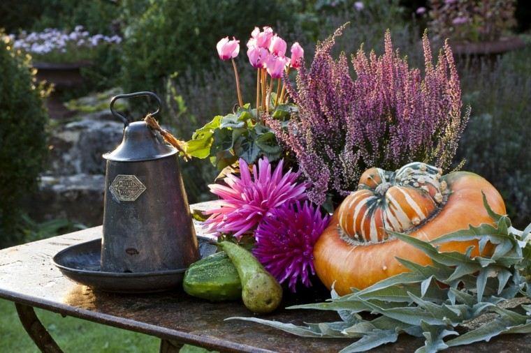 deco frutas verduras paisajes de otoño