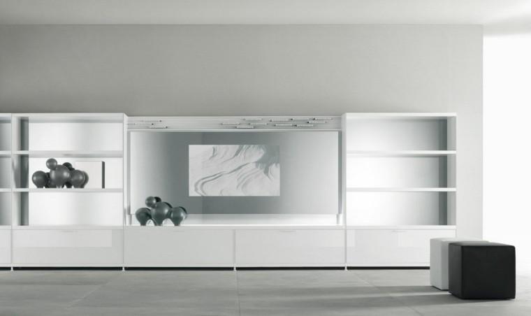 decoracion minimalista color blanco
