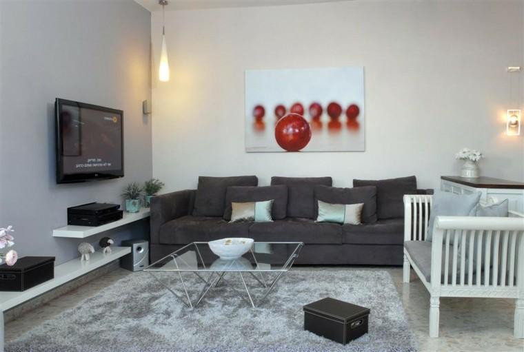 Decorar paredes con estilo cincuenta ejemplos for Diseno de paredes con cuadros