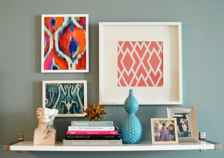 decoracin paredes cuadros formas - Decorar Paredes Con Cuadros