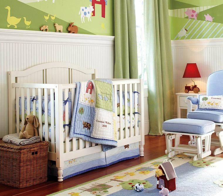Decoracion habitacion bebe cincuenta dise os geniales for Dormitorio ninos diseno