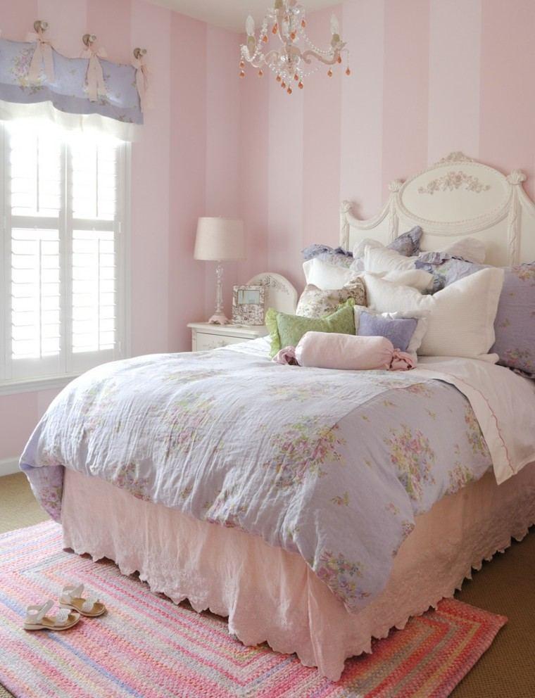 decoración vintage color rosa