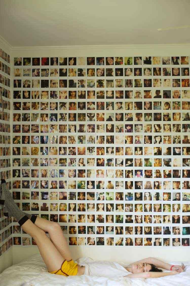 decoración de cuartos fotos amigos recuerdos ideas