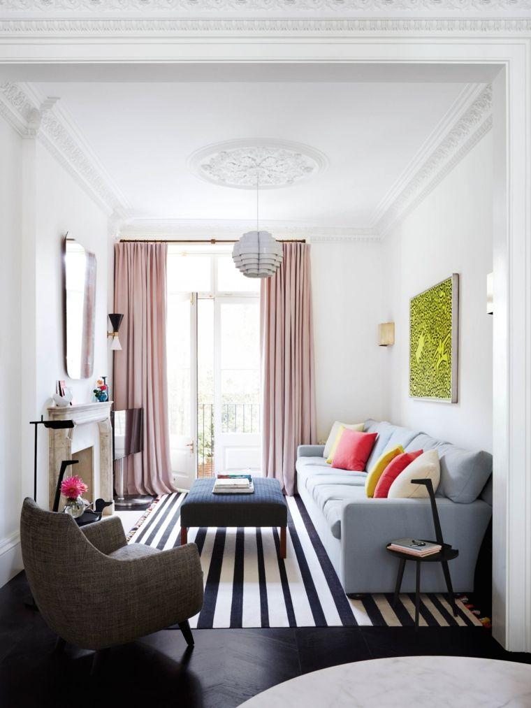 salón diseñado por Suzy Hoodless