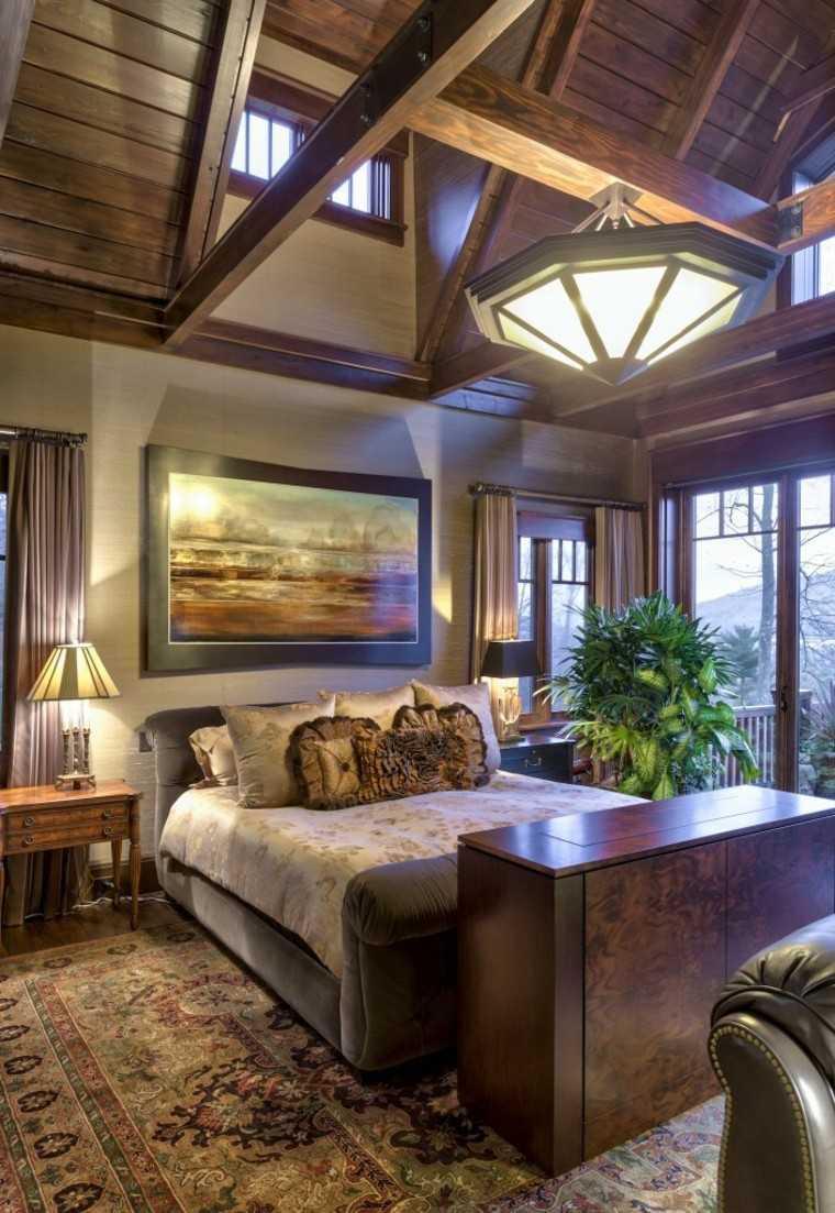 Decoraci n dormitorios matrimoniales 50 ideas elegantes for Dormitorios rusticos modernos