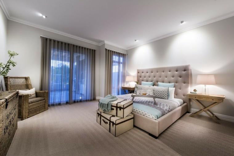 Decoraci n dormitorios matrimoniales 50 ideas elegantes for Habitaciones matrimoniales modernas