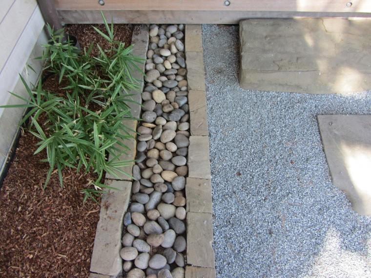 decoracion jardines estilo zen piedras