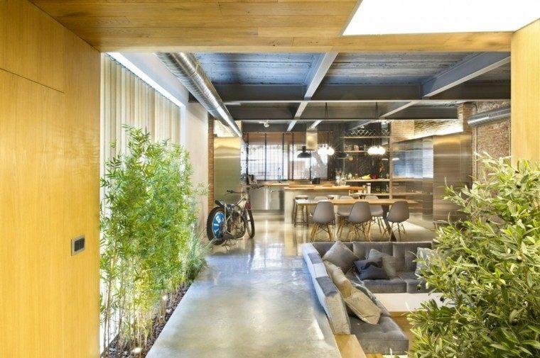 Decoraci n loft 50 ideas para espacios amplios - Ideas para loft ...