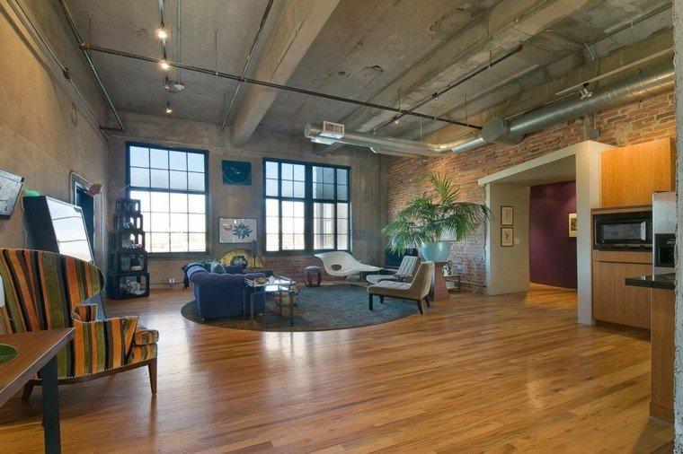 Decoraci n loft 50 ideas para espacios amplios for Loft modernos exterior