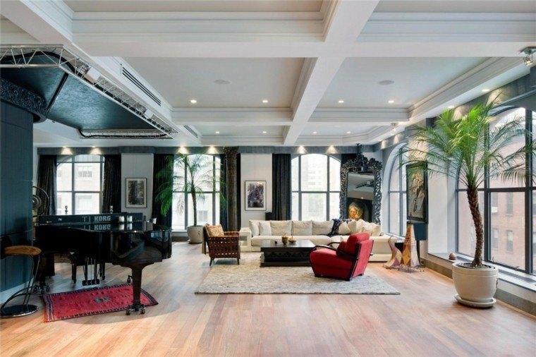 Decoraci n loft 50 ideas para espacios amplios - Ideas para decorar un loft ...