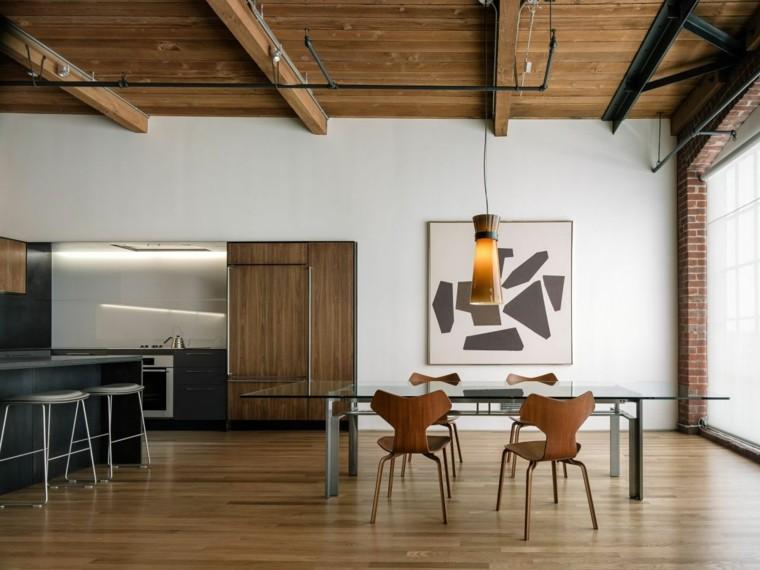 Decoraci n loft 25 ideas para especios maravillosos for Cual es el estilo minimalista
