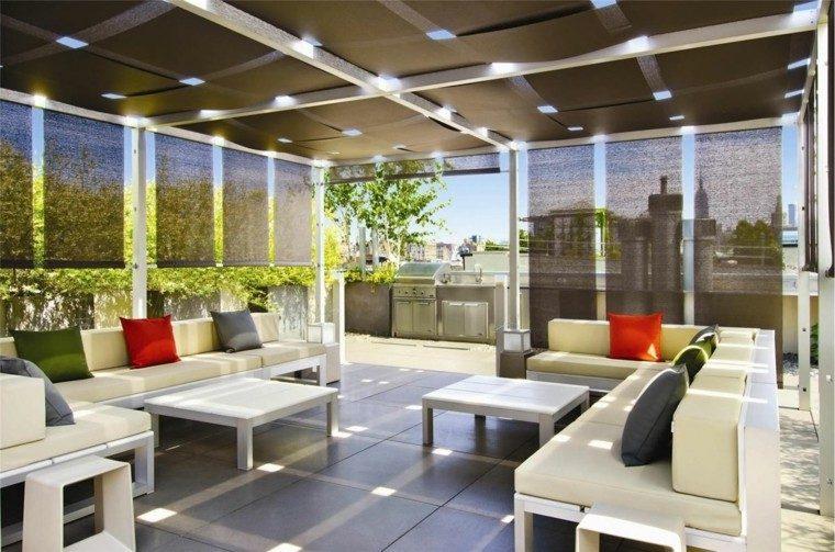 decoracion terraza aticos modernos cubierta