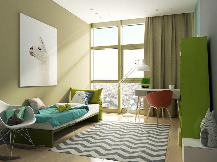decoracion-verde-habitacion-nino-opciones