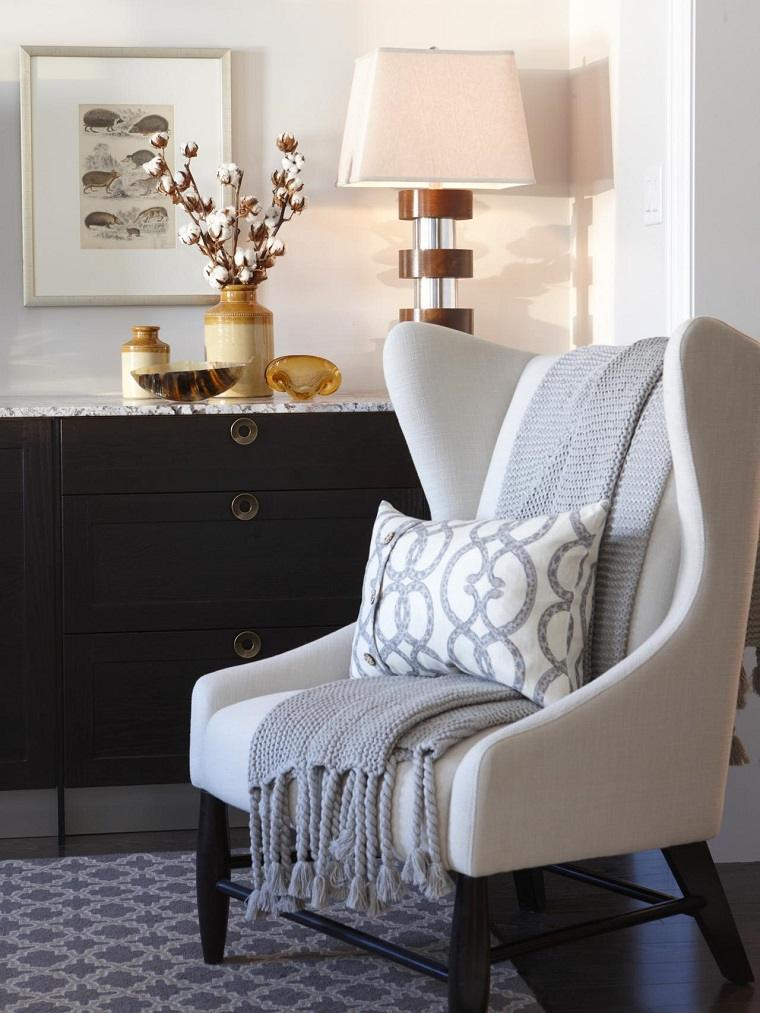 Paisajes de oto o para decora la casa 50 ideas preciosas - Butacas para dormitorios ...