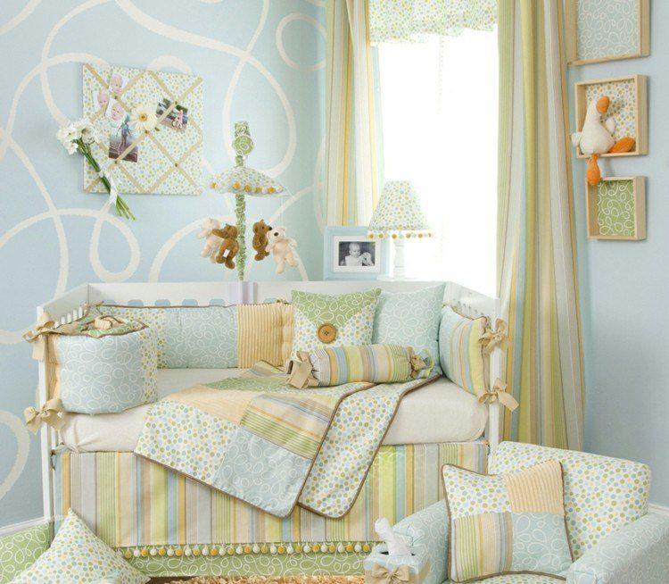 decorado acul natural cama onduladas