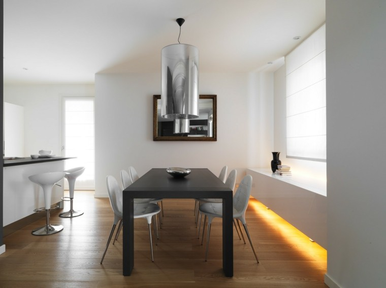 Ideas para decorar una casa cien ejemplos - Disenos de comedores modernos ...