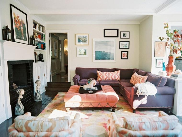 Decorar con cuadros 25 ideas para el hogar moderno - Decorar salon moderno ...