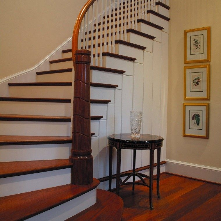 Beautiful Interior Staircase Ideas And Newel Post Designs: Decorar Escaleras Con Estilo