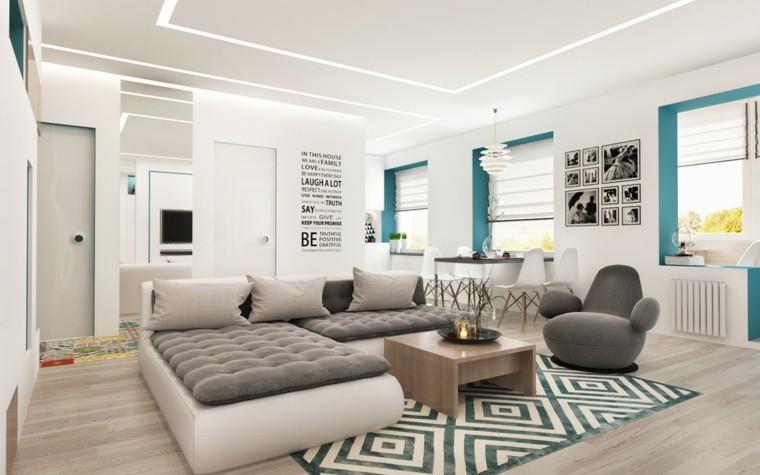 decorar espacios pequeños colores vibrantes salon