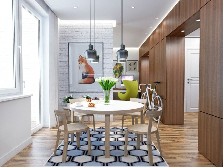 Decorar espacios peque os es muy f cil con estas ideas for Comedor para espacios pequea os