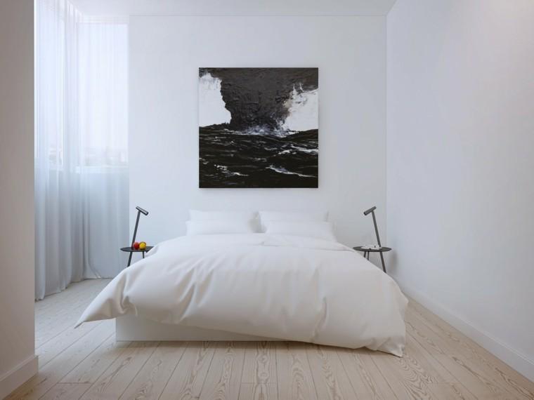 decorar espacios pequeños dormitorio estilo minimalista ideas