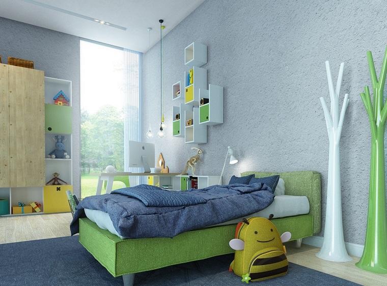Habitaciones infantiles ni a moderna ideas para ella - Habitacion pequena nina ...