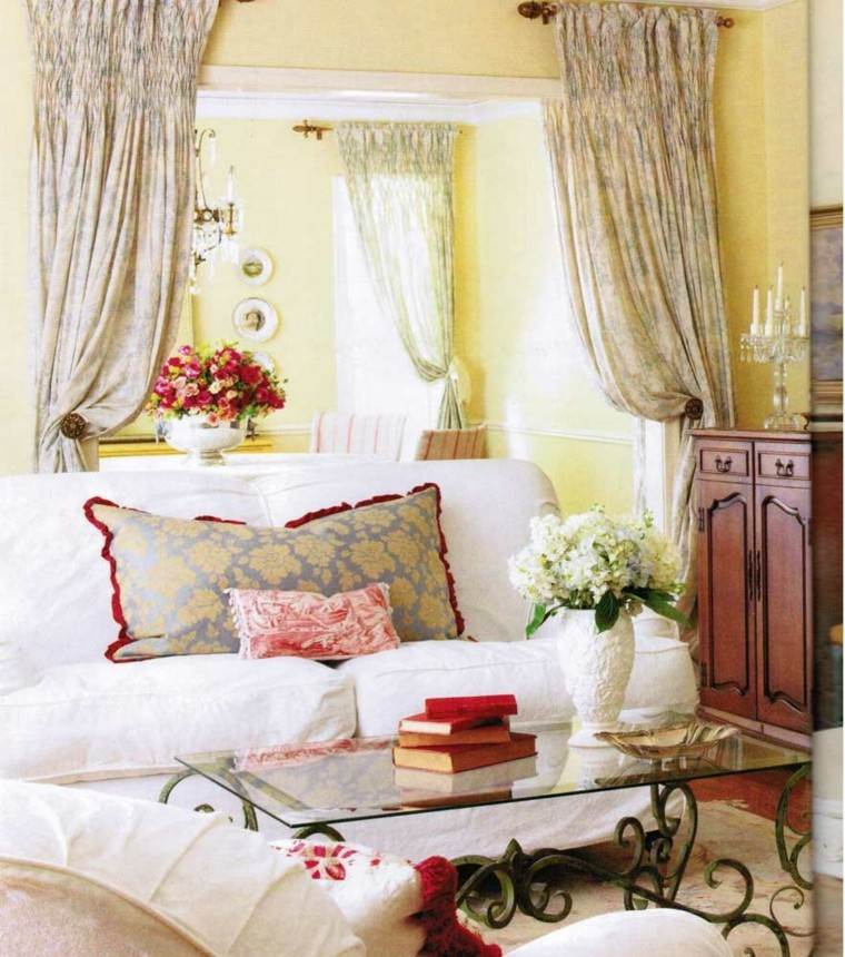 decorar interiores estilo shabby chic